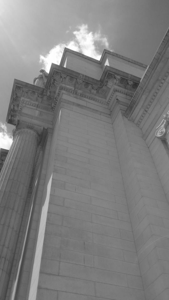 Look up. There's more! Stuck a grand structure! Union Station
